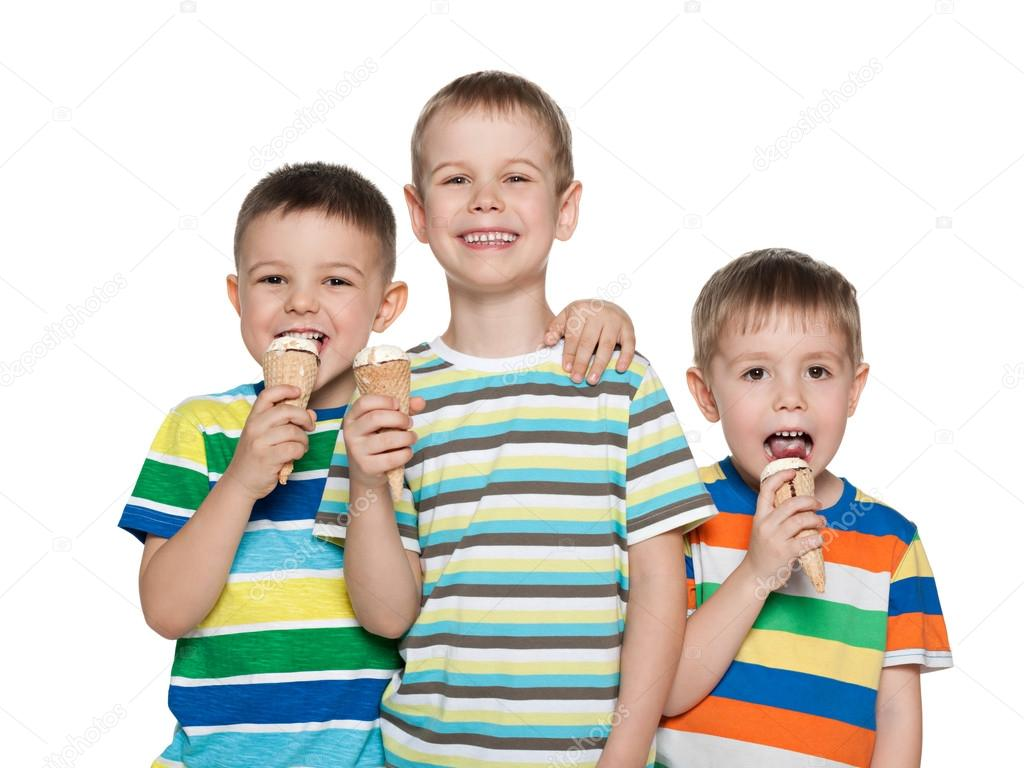 Imágenes: Niños Comiendo Helado