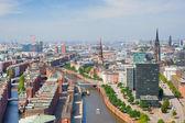 Hamburg und Hafen