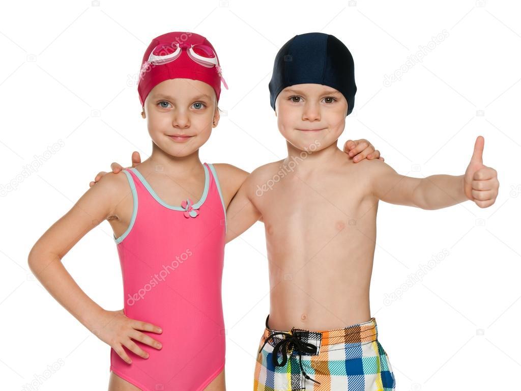 Costumi Da Bagno Per Bambini : Bambini in costumi da bagno u2014 foto stock © sergiyn #36508989