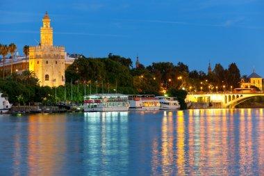 Seville at a summer night