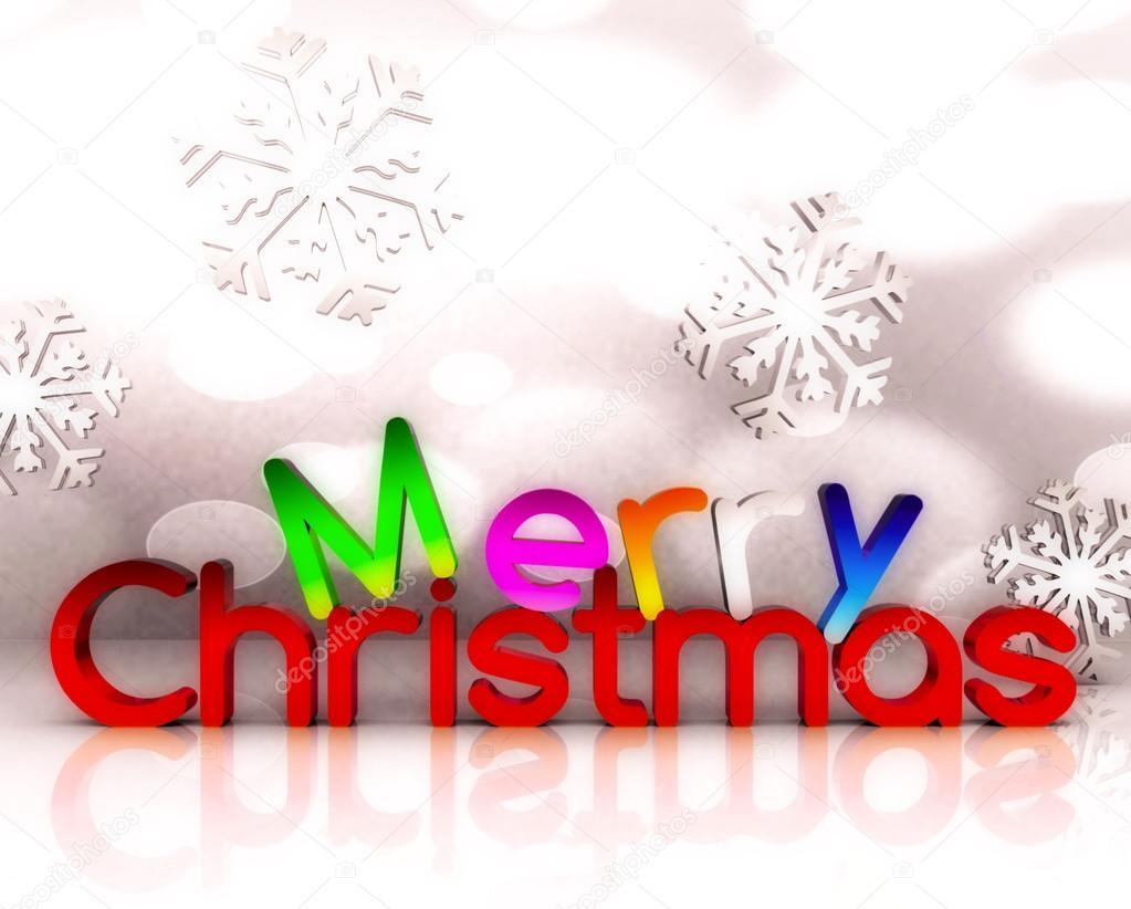 Buon Natale 3d.Buon Natale 3d Foto Stock C Letyg84 15544343