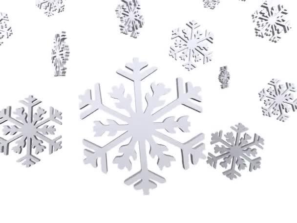 ... den Schnee fällt