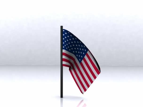 USA Flag - 3D