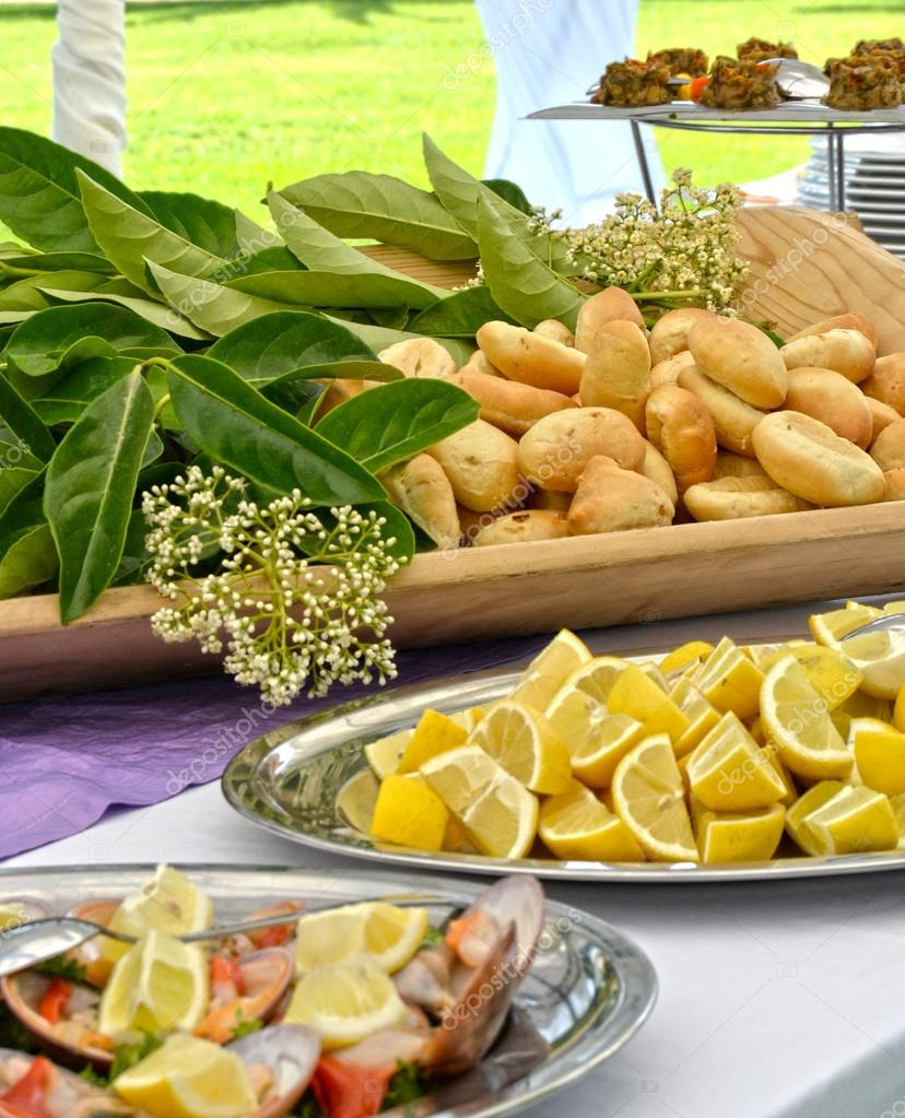 Appetizer Buffet - Wedding