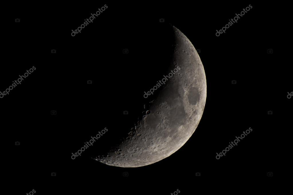 Imágenes: luna cuarto creciente | mirando la luna cuarto creciente ...