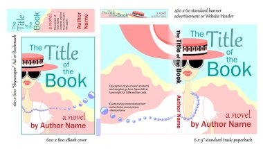 Chick Lit Book COVER Design for Writers