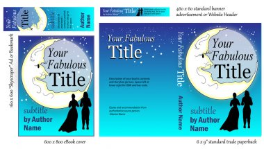 Romance Book COVER Design for Writers