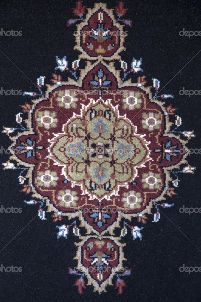 alfombra con diseño intrincado — Foto de stock © coendef #13575142