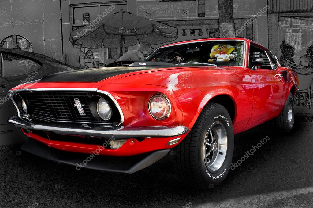 mustang ford 351 fotografia de stock editorial photoloide 31122807