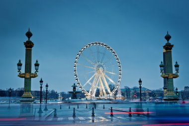 The big wheel in Paris, Place de la Concorde