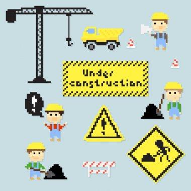 Pixel construction