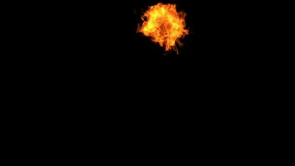 repülő tűz. alfa-csatorna szerepel