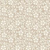 Photo Seamless vintage floral pattern. Vector illustration.