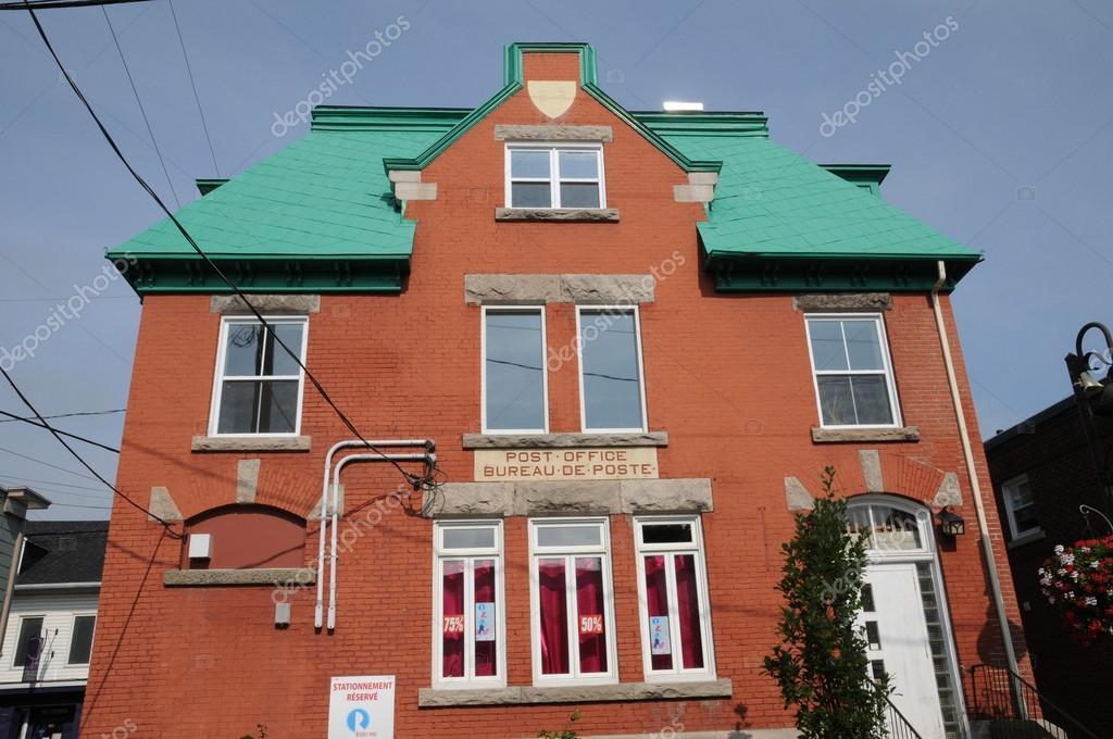 Québec bureau de poste dans la ville de montmagny u photo