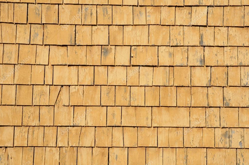 Quebec Holz Fliesen An Der Wand Eines Hauses Stockfoto C Packshot