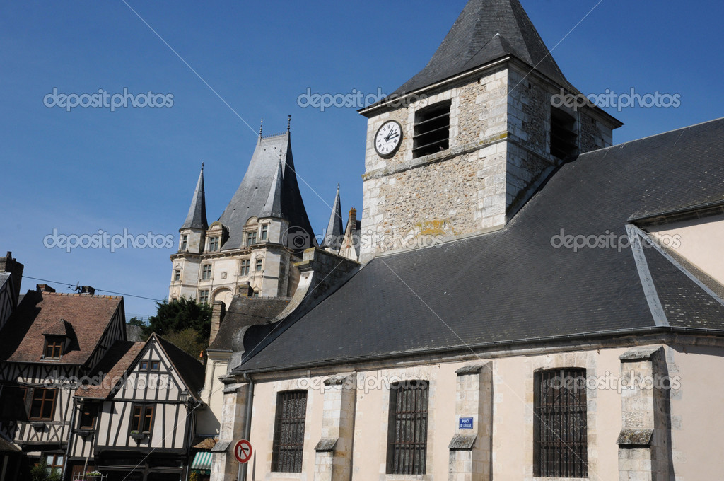 Ville pittoresque de gaillon en normandie photo 48723265 for Piscine de gaillon