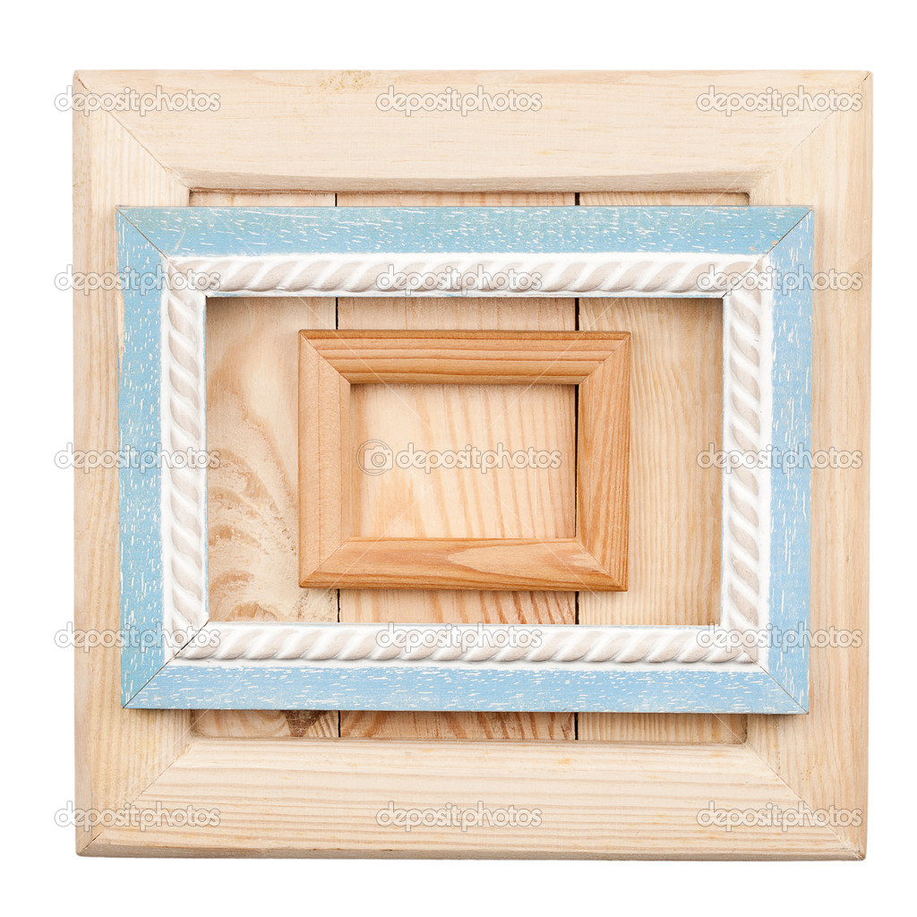 Marcos de madera antiguos — Foto de stock © Taigi #12683610
