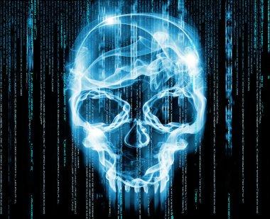 Hackers concept digital illustration
