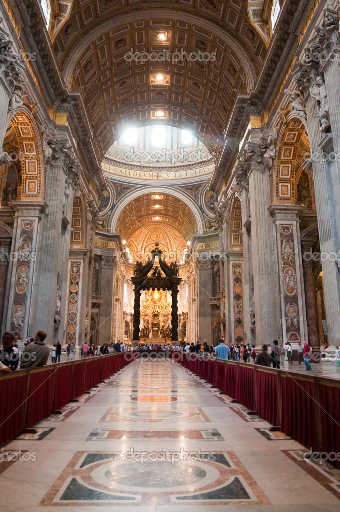 All 39 interno di san pietro basilica vaticano italia for Interno san pietro