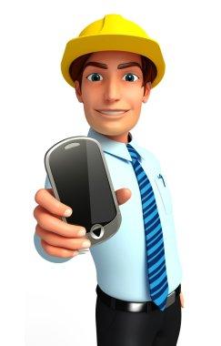 Businessman smart-phone