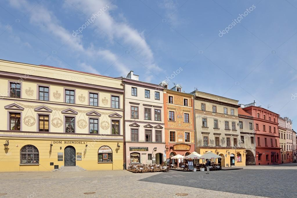 Фотообои Старый город в Люблине