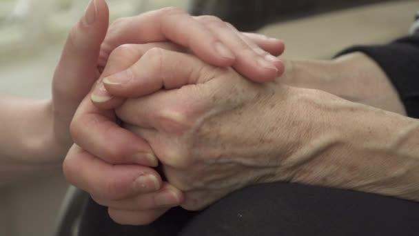 uklidňující ruce
