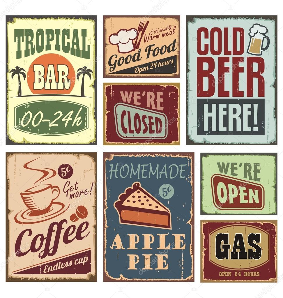 Boraxo vintage tin signs