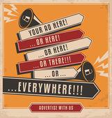 reklamní a marketingové koncepce kreativní design