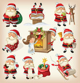 készlet-ból kész, karácsonyi mikulások