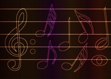 Bright music