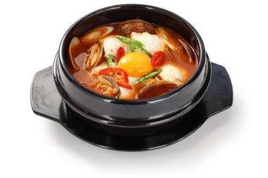 Sundubu jjigae, korean cuisine