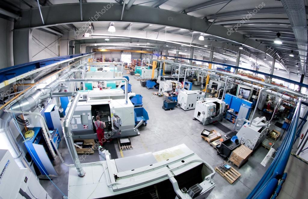 Factory Hall Machines