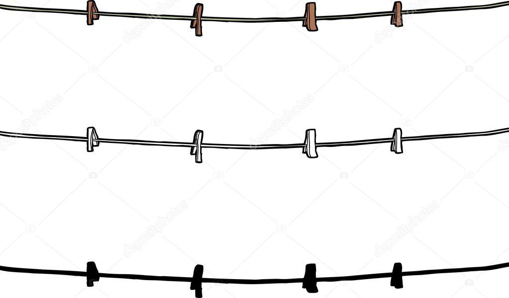 Tendedero aislado archivo im genes vectoriales - Tendederos de ropa de pared ...