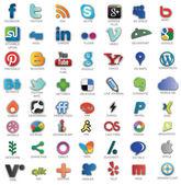 Sociální sítě ikony
