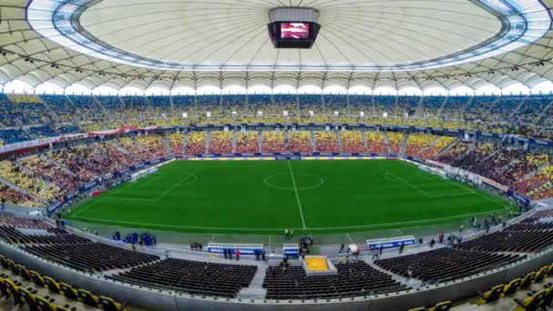 TimeLapse a Nézőtéri ülések, töltsd fel a labdarúgó mérkőzés előtt