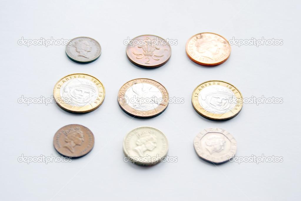 Geld Münzen Verschiedener Länder Stockfoto Nevakalina 21713015