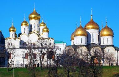 Old orthodox church. Moscow Kremlin