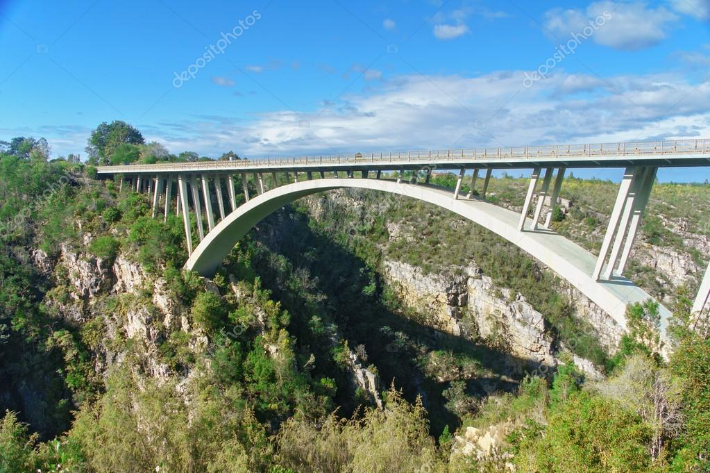 Bridge in Tsitsikamma national park