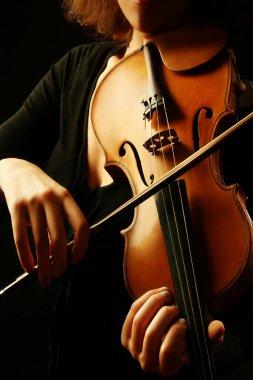Violin orchestra instruments violinist hands