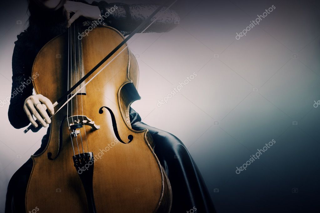 Cello musical instrument cellist playing