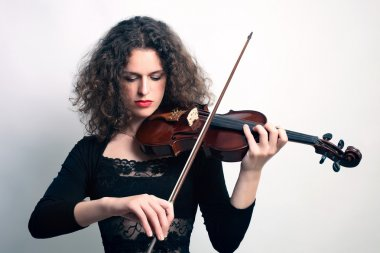 Violin violinist musician playing