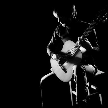 Acoustic guitar player guitarist concert