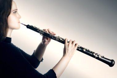 Oboe classical orchestra musician