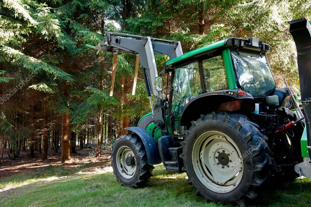 Heavy machine forestry