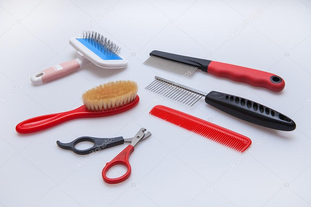 Acessories for the grooming of cats and dogs