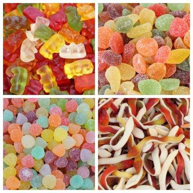 Gummy candies set