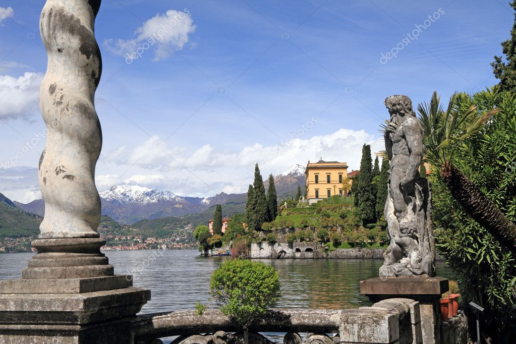 Fantastic landscape of lake Como