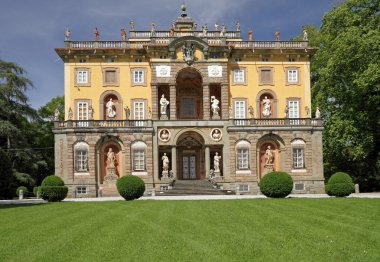 The Villa Torrigiani in Tuscany