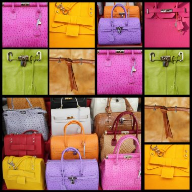 Fancy leather handbags collection