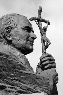 Statue of Pope John Paul II in Krakow